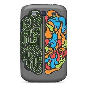Pretty XOMPD4170FwLoJ Galaxy S3 Case Cover/ Brain Activity Series High Quality Case