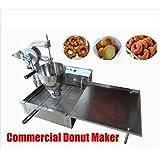 Commercial Manual Breakwater donut ball Donut Fryer Maker Making Machine 110V AC 60Hz