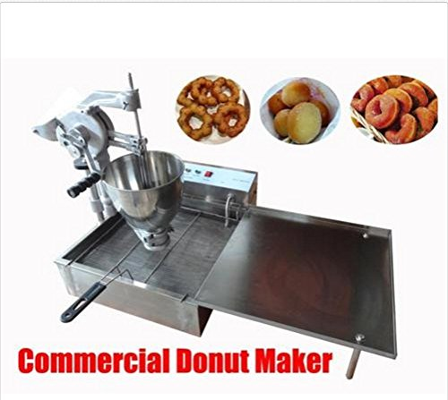 Commercial Manual Breakwater donut ball Donut Round Donut Fryer Maker Making Machine 110V AC 60Hz Three Molds type