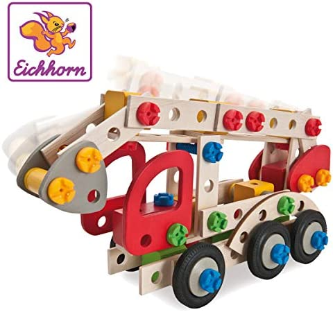 Eichhorn 100039085 – Constructor Feuerwehrauto