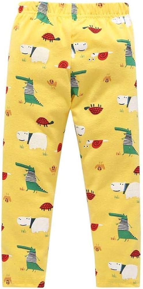 URMAGIC Baby Boys Girls Pajamas Sets,Toddler Infant Cartoon Dinosaur Pattern Long Sleeve Tops Pajamas Pants Autumn Pajamas Clothes Sets for 1-6 Years