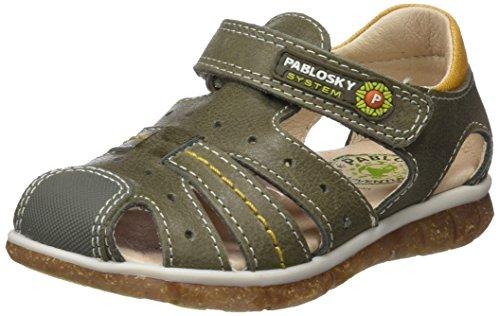 Pablosky 583286 Verde Vert Garçon Sandales 583286 Fermé Bout rrHwxpF