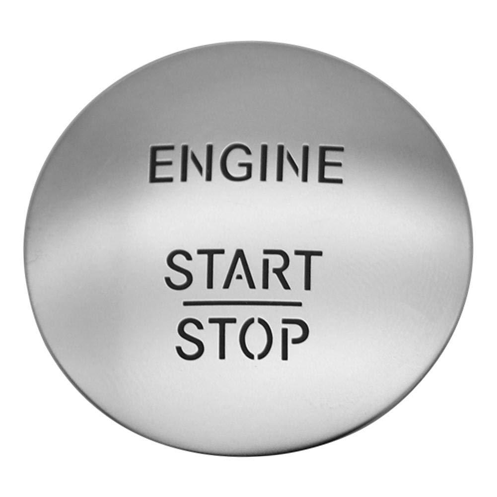 akaddy Keyless Go Start Stop Drucktaste Z/ündschalter 2215450714 Silber