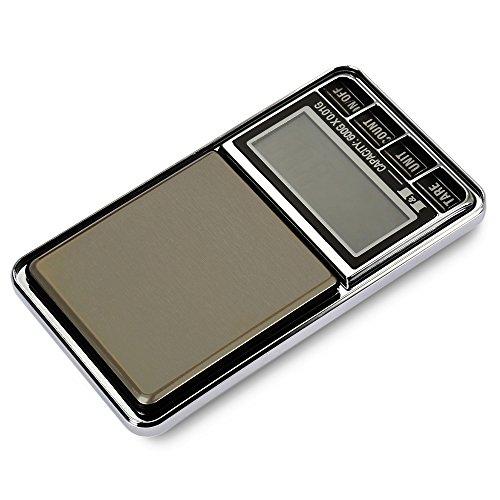SODIAL 600g 0.01 Bascula de joyas de bolsillo electronica digital 10 miligramos micro-gm con interfaz de micro-carga: Amazon.es: Bricolaje y herramientas