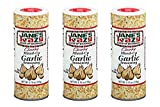 Jane's Krazy Chunky Mixed-Up Garlic Seasoning, 135 grams, (3 Pack)