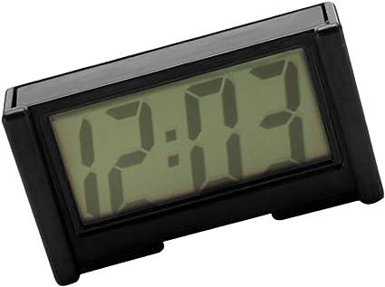 Mini Batterie Autouhr Miniuhr Digitaluhr Für Auto Zuhause Reise Schwarz Küche Haushalt