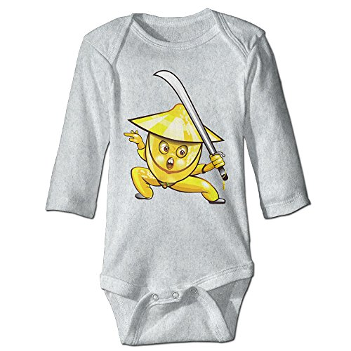 Alexx Banana Warrior Hero Infant Jumpsuit Bodysuit Long-sleeve Playsuit Ash 24 Months