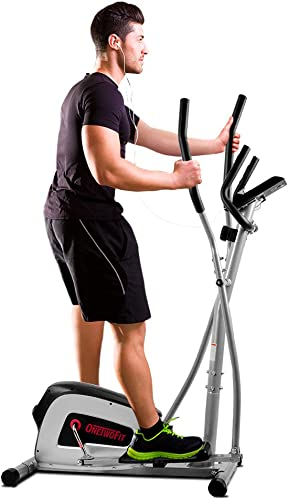 ONETWOFIT Home Elliptical Cross Trainer
