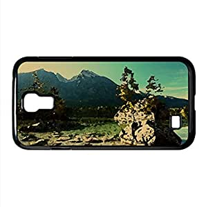 Smooth Water Surface Watercolor style Cover Samsung Galaxy S4 I9500 Case (Lakes Watercolor style Cover Samsung Galaxy S4 I9500 Case)