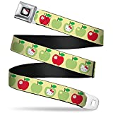 Best Buckle Down Little Girl Movies - Buckle-Down Seatbelt Belt - Hello Kitty Apples Yellow/Green/Red Review