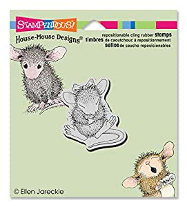 Stampendous HMCD01 Sitting Pretty House Mouse Stamp