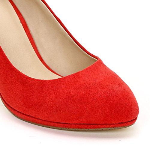 Rojo Scarpe Donna amp;Scarpe Obsel Decolletè 0qYwPnB