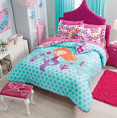 51d5T%2Bomt0L Best Mermaid Bedding and Comforter Sets