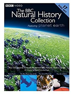 The BBC Natural History Collection (Planet Earth / The Blue Planet: Seas of Life / The Life of Mammals / The Life of Birds) (B001957A44) | Amazon price tracker / tracking, Amazon price history charts, Amazon price watches, Amazon price drop alerts