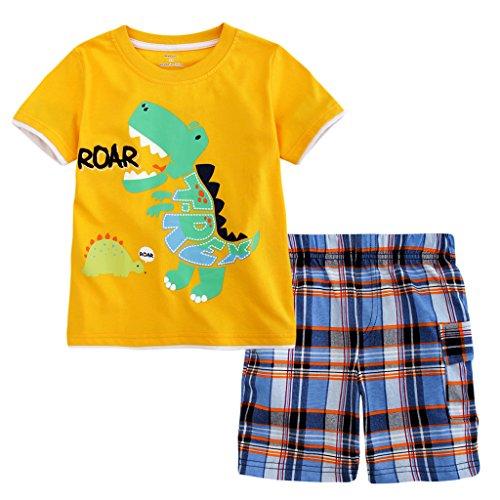 Plaid Boys T-Shirt - 6