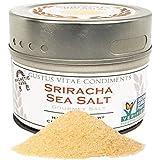 Gustus Vitae Sriracha Sea Salt, Non-GMO, 3.1 oz, Gourmet Salt