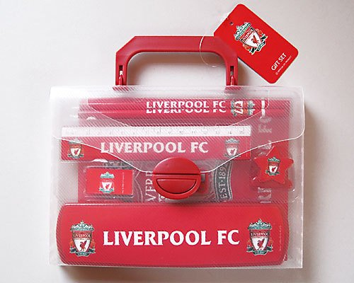 Liverpool FC Official Stationery Set by Linenideas