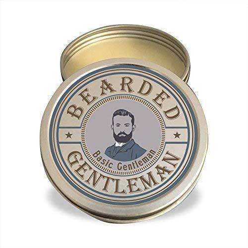 Bearded Gentleman : Beard Balm | Unscented | Natural Conditioning | 2 oz | Handmade by Bearded Gentleman