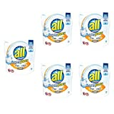 all Mighty Pacs Laundry Detergent with OXI Stain Removers and Whiteners, 38 Count (5 pack)