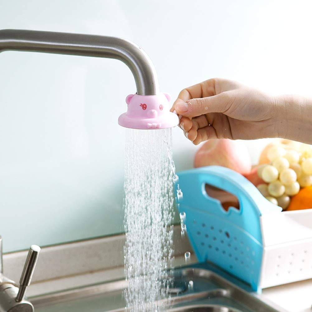 rose BESTONZON Robinet de filtre /à eau Robinet de cuisine anti-/éclaboussures Robinet purificateur deau /à filtre