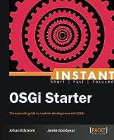 Instant OSGi Starter Front Cover