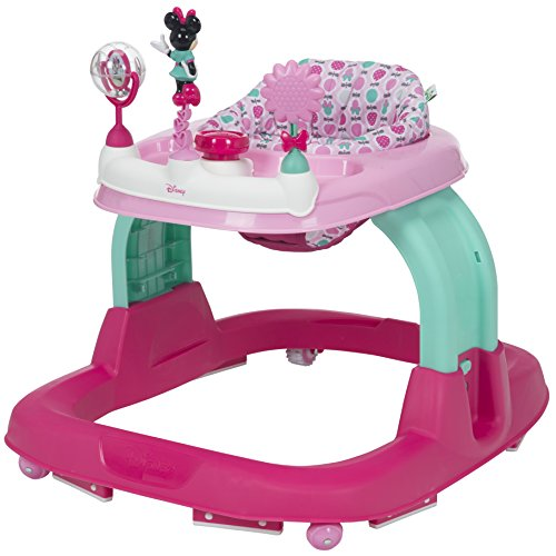 Disney Ready, Set, Walk 2.0 Walker - Minnie Flower Power
