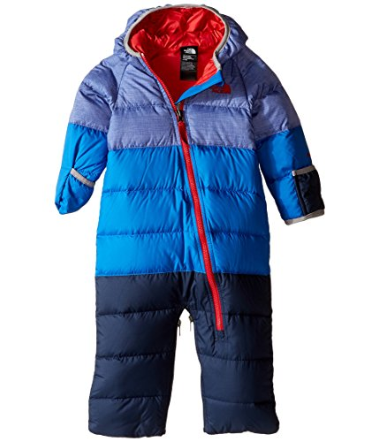 (The North Face Kids Unisex Lil' Snuggler Down Bunting (Infant) Honor Blue Heather (Prior Season) 3-6 Months)