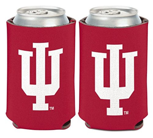 NCAA University Indiana Hoosiers 1 Pack 12 oz. 2-Sided Can Cooler