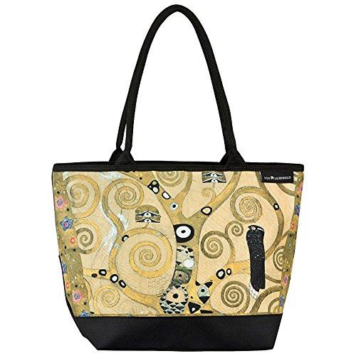 La Compras Lilienfeld Motivo Árbol Klimt De Mujer Arte Bolsa Bandolera Von Gustav Vida wE6FP