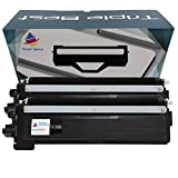 Triple Best 2 Pack Compatible TN210 Black Laser Toner Cartridges for Replacement of Brother TN210 TN-210 Black Toner Cartridge