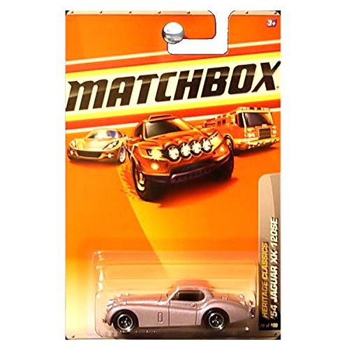 Matchbox 2010 Heritage Classics 1954 Jaguar XK 120SE Champagne Pink Silver