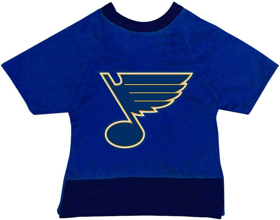 (XX-Large) - All Star Dogs St. Louis Blues Pet Mesh Sports Jersey