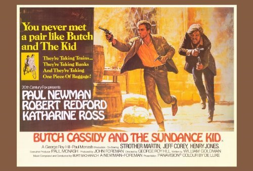 Butch Cassidy and the Sundance Kid POSTER Movie (27 x 40 Inches - 69cm x 102cm) (1969) (Style B)]()
