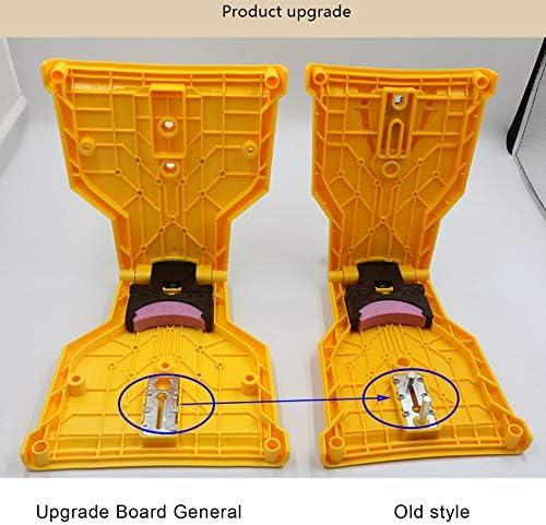 NONE BRAND Chainsaw Chain Grinder Teeth Sharpener Lightweight Portable Ower Sharp Bar-Mount Fast Grinding Chainsaw Chain Sharpener