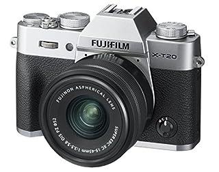 Fujifilm X-T20 Mirrorless Digital Camera w/XC15-45mm F/3.5-5.6 OIS PZ Lens, Silver (B07DCJ2NTG) | Amazon price tracker / tracking, Amazon price history charts, Amazon price watches, Amazon price drop alerts