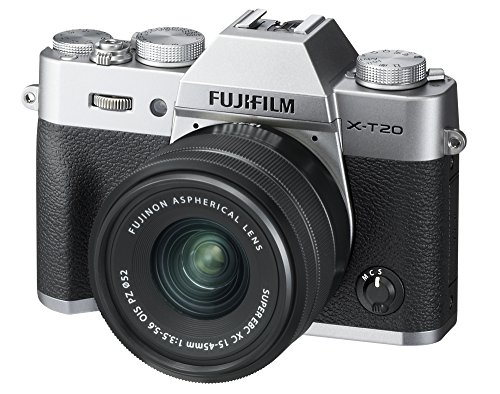 Fujifilm X-T20 Mirrorless Digital Camera w/XC15-45mmF/3.5-5.