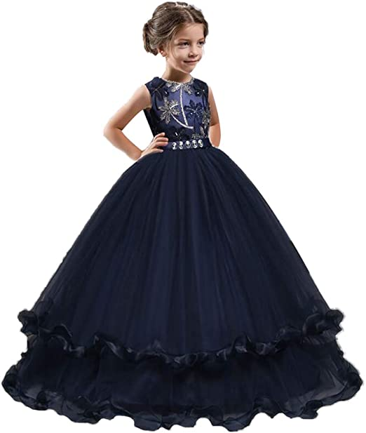 Vestido de niña princesa vestido de novia vestido de novia falda ...