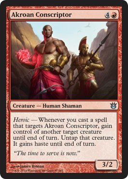 Magic: the Gathering - Akroan Conscriptor - Born of the Gods