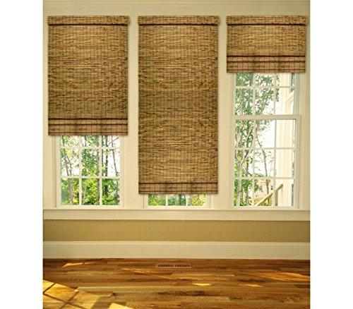 202463 Persiana de bambú resistente a temperatura ambiente con cuerda 120x260cm: Amazon.es: Hogar