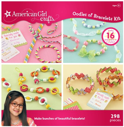 Price comparison product image American Girl Crafts Oodles Of Bracelets Kit