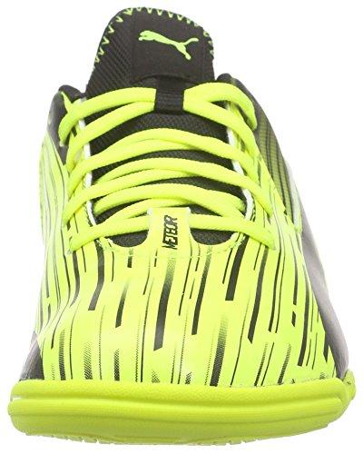 Puma Meteor Sala Lt Damen Futsalschuhe Gelb (safety yellow-black 04)