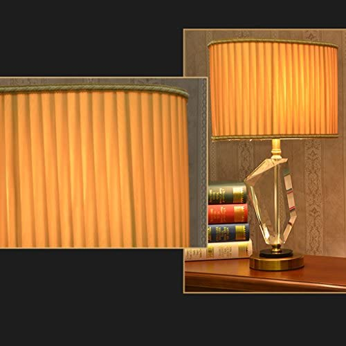 AILI- Table Lamp Desk Lamp Light Gift Lamp Lamp Remote Dimming Crystal Lamp, LED Lighting Bedside, Crystal Lamp, Table Desk Reading Lamps