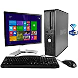 Dell Optiplex Desktop 2.93 GHz Intel Core 2 Duo Processor, New 8GB RAM DDR2, 250GB , Windows 10 Professional x64, 19 LCD Monitor (brands vary) - (Certified Refurbished)