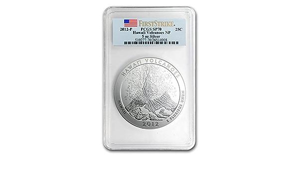 2012-P America The Beautiful Acadia ATB 5 Oz Box OGP /& COA No Coin