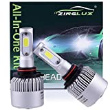 99 integra led head light kit - ZX2 9005 H10 HB3 9145 8000LM LED High Beam Headlight Conversion Kit,Fog Driving Light,for Replacing Halogen Headlamp All-in-One Conversion Kits,COB Tech,6500K Xenon White, 1 Pair with 1 Year Warranty