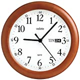 Vedette Floor Clock, Color White