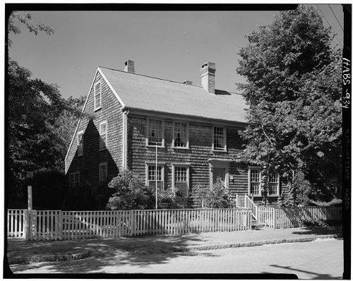 Photo: Zaccheus Macy House,107 Main Street,Nantucket,Nantucket - Street Macys Main