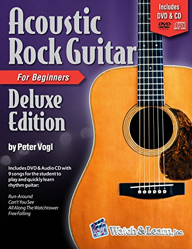 Acoustic Rock Guitar Book For Beginners Deluxe Edition with DVD & Audio CD (Songbook Acoustic Rock)