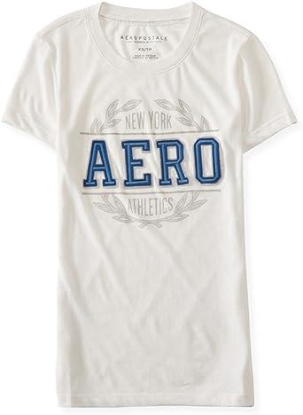 AEROPOSTALE Womens BKLYN Nineteen 87 Embellished T-Shirt