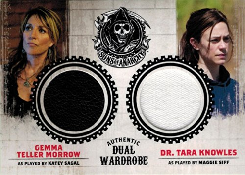 Sons of Anarchy Seasons 1 to 3 DM2 Wardrobe Costume Card Gemma & Tara (Cards Of Sons Wardrobe Anarchy)